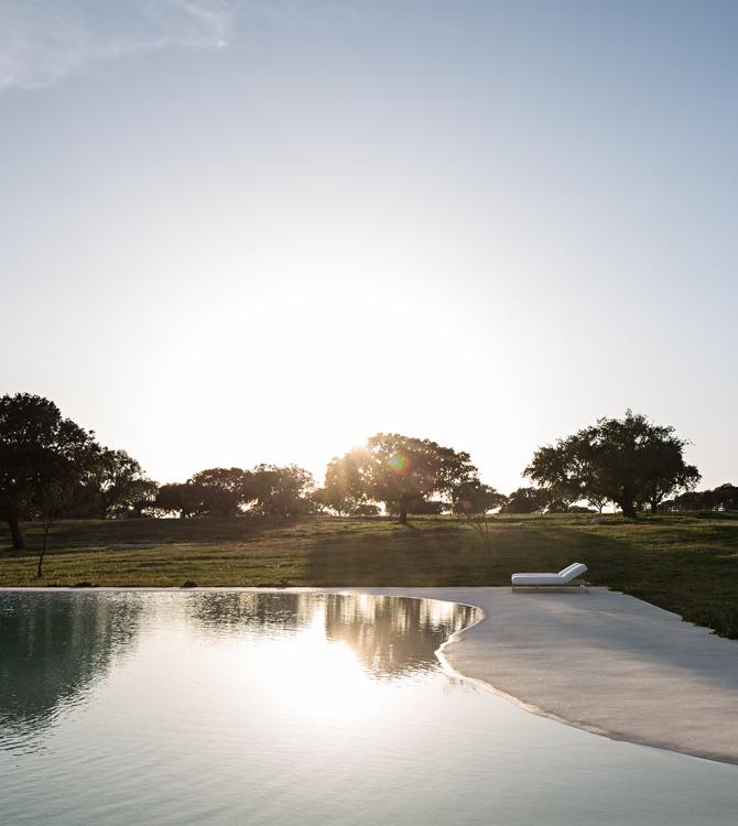 piscine Alentejo mer