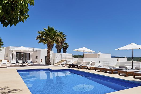 Piscina Casa Ibiza good medidas