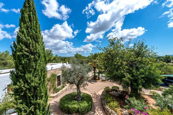 Casa Ibiza garden