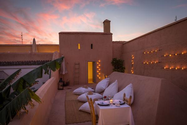 terraza le riad berbere